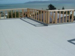 DecKing membrane completed ready for parapet cladding