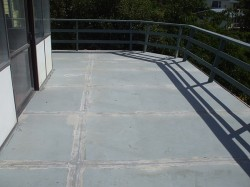 deck coated with Formstick primer