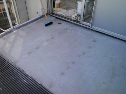 steel mat sifted and Sonogard cleaned with Xplus