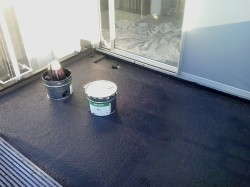 ready to apply 3rd coat of Easygum