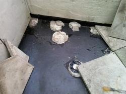 reinstalling pavers on spacer rings