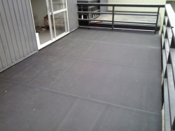 rubber deck