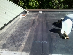 completed seam repair