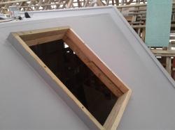 skylight on 45 degree roof