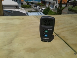 moisture content of plywood is below 18%, hydroepoxy primer is not necessary
