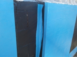 internal vertical corner reinforcing strip