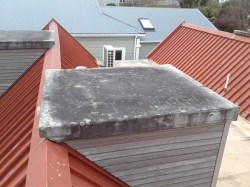 one of the dormer roofs