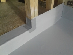 door sill detail E2 compliant