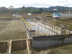 Tefond drainage and protection to south facing footings and walls