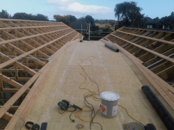 same valley/roof looking west, 3.2m wide girth
